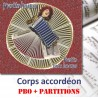 Corps accordéon - PBO + partitions